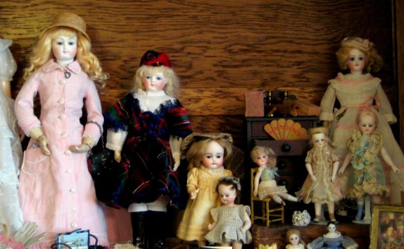 A régi játékbabákról