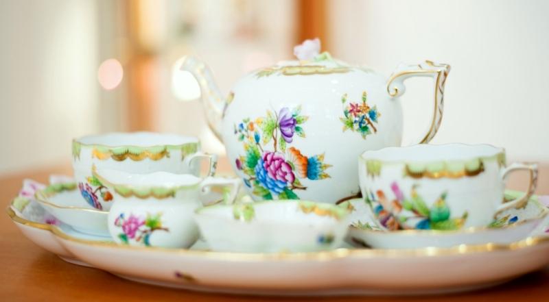 A Herendi porcelán története
