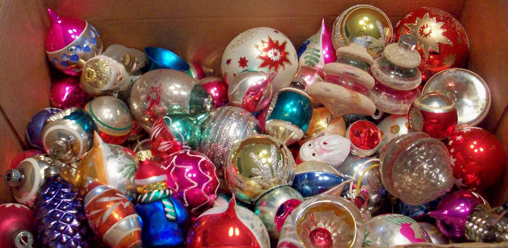 Christmas Tree Glass Balls