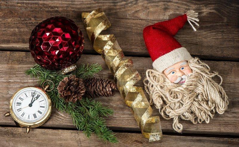 Retró karácsonyi díszek és dekorációk